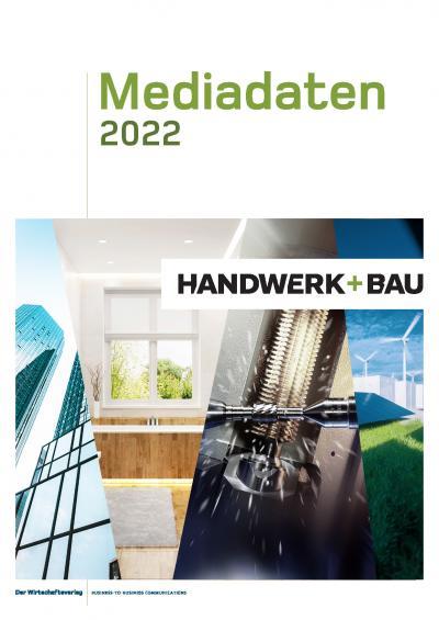 HandwerkundBau Mediadaten 2022 Cover